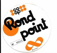 Coop Rond Point  / Sticker écusson Adhésif Autocollant - Autocollants