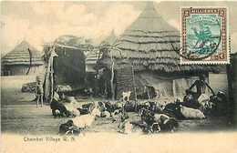 239023-Sudan, White Nile, Chambei Village, Sudan Postage Stamp, M. Venieras - Sudan