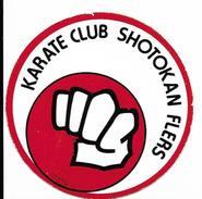 Karaté Club Shotokan Flers   / Sticker écusson Adhésif Autocollant - Autocollants