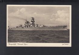 Dt. Reich AK Panzerschiff Admiral Scheer 1942 - Weltkrieg 1939-45