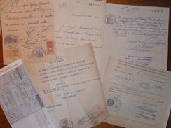 Fiscaux , Lot De 13 Documents - Fiscaux