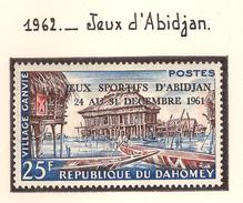 Dahomey 1962, Jeux D'Abidjan ( Thématique Sport ) - Benin – Dahomey (1960-...)