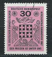 BRD  1967  Mi 536  Deutscher Evangelischer Kirchentag, Hannover - Gebraucht