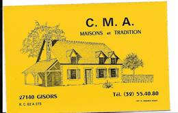 Maisons CMA Gisors / Sticker écusson Adhésif Autocollant - Autocollants
