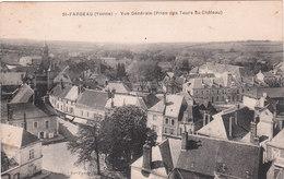 Carte Postale Ancienne De L'Yonne - Saint Fargeau - Vue Générale (prise Des Tours Du Château) - Saint Fargeau