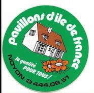 Noyon Pavillons Ile De France / Sticker écusson Adhésif Autocollant - Aufkleber