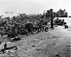 Photo WW2 British Soldier D-day Landing Normandy /20 - Reproductions