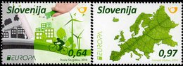 Slovenia - 2016 - Europa CEPT - Think Green - Mint Stamp Set - Eslovenia