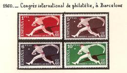 Espagne 1960, Congrès International De Philatélie, à Barcelone  ( Thématique Sport ) - 1931-Aujourd'hui: II. République - ....Juan Carlos I