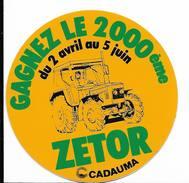Materiel Agricole - Tracteur Zetor / Sticker écusson Adhésif Autocollant - Autocollants