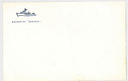 BIGLIETTO PER POSTA - DRAGAMINE GERANIO -ANNI 50 (RL320 - Documenti