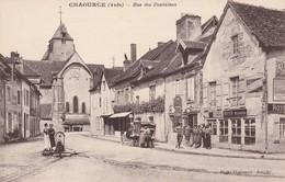 10 -   CHAOURCE - Rue Des Fontaines  Plan Pas Courant - Royer Mécanicien Citroën - Plaque - Pompe Essence SAP - Chaource