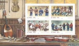 2008, Irland, 1847/50 Block 75, Irische Musikgruppen. MNH **, - Blocchi & Foglietti