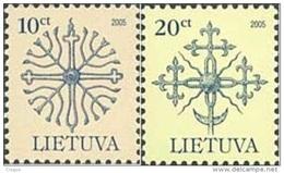 Lietuva Litauen 2004 Mi. Nr. 889-890 Definitiv - Lithuania