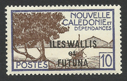 Wallis And Futuna, 10 C. 1944, Sc # 126A, MNH - Wallis And Futuna