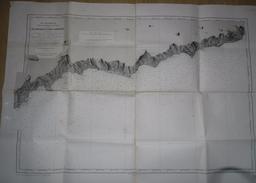 CARTE MARINE DE MONACO A SAN LORENZO MARS 1915 - Nautical Charts