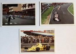 3 Images Grand Prix F1 Formule 1 Didier Pironi René Arnoux Rolf Stommelen Jochen Mas 1978 1979 - Automovilismo - F1