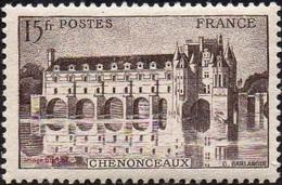 France N°  610 ** Site - Monument - Château De Chenonceau (Indre-et-Loire) - Nuovi