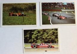 3 Images Grand Prix F1 Formule 1 Brambilla Surtess Ford John Wtason Brahham Alfa Romeo Villeneuve Depailler 1978 1979 - Automovilismo - F1