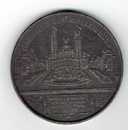 MEDAILLE METAL EXPOSITION UNIVERSELLE 1878 PALAIS DU TROCADERO PARIS  EDITEUR MASSONNET ARCHITECTES DAVIOUD ET BOURDAIS - Sonstige