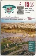 Jordan - Alo - Jerash - Exp. 05.2000, 20.000ex, Used