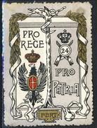 Erinnofili, Italia 19xx,24° Reggimento Fanteria 'Pro Rege Pro Patria' - Italien