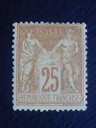 Année 1879 N° 92  Neuf * - 1876-1898 Sage (Type II)
