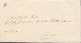 PREFILATELIA LETTERA MANOSCRITTA 1840 (RL334 - Italia