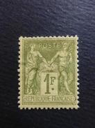 Année 1883 N° 82  Neuf * Cote 225 € - 1876-1898 Sage (Type II)