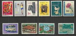 TEN AT A TIME - RYUKYU ISLANDS - LOT OF 10 DIFFERENT  2 - MNH MINT NEUF NUEVO - Colecciones & Series