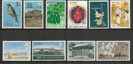 TEN AT A TIME - RYUKYU ISLANDS - LOT OF 10 DIFFERENT  3 - MNH MINT NEUF NUEVO - Colecciones & Series