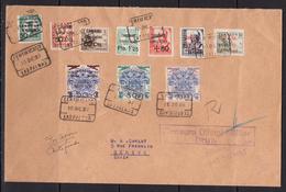 España 1937. Canarias. Carta De Las Palmas A Geneve. Censura. - Marcas De Censura Nacional