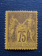 Année 1890 N° 99 Neuf * Cote 375 € - 1876-1898 Sage (Type II)