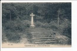 Carte De Fleurines La Croix Sainte Maxence ( Recto Verso ) - France