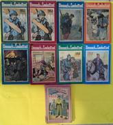 """Lot De 9 Livres : """"L'Almanach Du Combattant"""" Année 1950 - 1959 - Boeken"""
