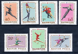 HUNGARY 1963 European Skating Championship Set MNH / **.  Michel 1898-1904 - Winter (Other)