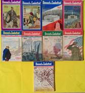 """Lot De 9 Livres : """"L'Almanach Du Combattant"""" Année 1960 - 1968 - Boeken"""