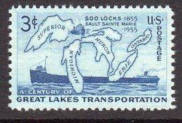 USA 1955 Soo Locks, GreatLakes, MNH (SG 1071) - Ongebruikt
