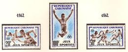 Gabon 1962, Jeux Sportifs ( Thématique Sport ) - Gabon