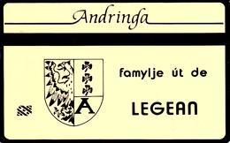 NETHERLANDS - Andringa Famylje Ut De Legean , Tirage 1.000, 09/91, Used - Privadas