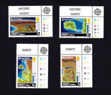JERSEY 1982,  SCOTT # 285-8,  MNH   EUROPA  1982 - Jersey