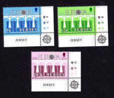 JERSEY 1984,  SCOTT # 326-8    EUROPA 1984 MNH - Jersey