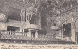 Monaco Monte Carlo Loge Du Prince Salle De Concert 1907 - Opera House & Theather