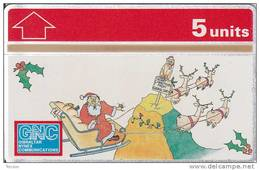 Gibraltar, GIB-41, Christmas 1994 Collectors Ed, Monkey, Mint, 2 Scans.