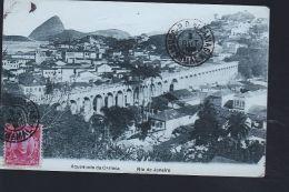 RIO DE JANEIRO    RARE CARTE TOILEE           NEW - Postcards