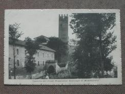 MOMBERCELLI - CASTELLO DEI CONTI MAGGIOLINI SCARAMPI -  FP    - BELLISSIMA - Italia