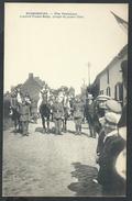 +++ CPA - HUISSIGNIES - Fête Patriotique 1920 - L'Accord Franco-Belge - Groupe De Jeunes Filles - 4/5  // - Chièvres