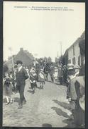 +++ CPA - HUISSIGNIES - Fête Patriotique 1920 - La Belgique Glorifiée - Groupe De 3 Jeunes Filles - 5/5  // - Chièvres