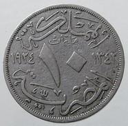 1924 - Egypt 10 Milliemes - (AH 1342) - KM# 334 - - Egitto