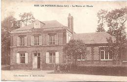 LA POTERIE - La Mairie Et L'Ecole - France